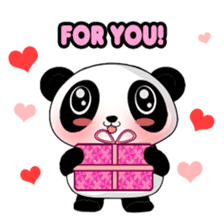 Panko Cute Little Panda sticker #147537