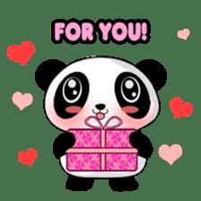 Panko Cute Little Panda sticker #147537