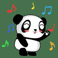 Panko Cute Little Panda sticker #147539