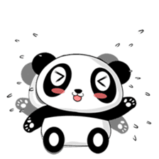 Panko Cute Little Panda sticker #147541