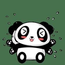 Panko Cute Little Panda sticker #147541
