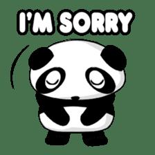 Panko Cute Little Panda sticker #147544