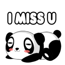Panko Cute Little Panda sticker #147546