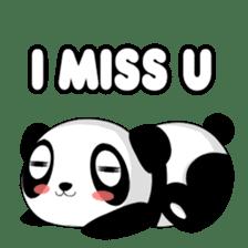 Panko Cute Little Panda sticker #147546