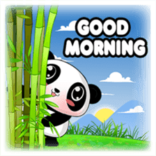 Panko Cute Little Panda sticker #147550