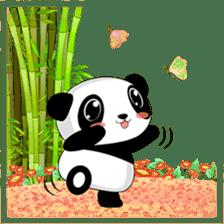 Panko Cute Little Panda sticker #147551