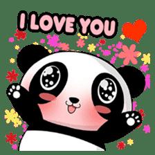 Panko Cute Little Panda sticker #147553