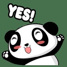 Panko Cute Little Panda sticker #147556