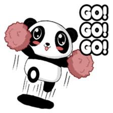 Panko Cute Little Panda sticker #147559