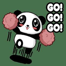 Panko Cute Little Panda sticker #147559