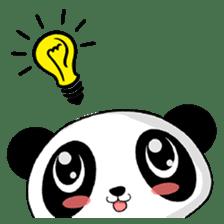 Panko Cute Little Panda sticker #147563