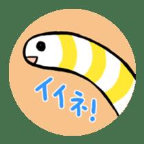 GO!spotted garden eel sticker #148490