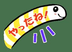 GO!spotted garden eel sticker #148493