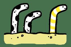 GO!spotted garden eel sticker #148499