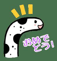 GO!spotted garden eel sticker #148506