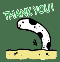 GO!spotted garden eel sticker #148511