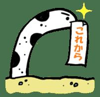 GO!spotted garden eel sticker #148512