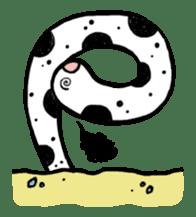 GO!spotted garden eel sticker #148513
