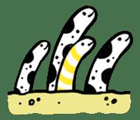 GO!spotted garden eel sticker #148514