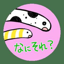 GO!spotted garden eel sticker #148521