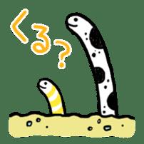 GO!spotted garden eel sticker #148523