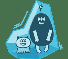 kogekoge-ko-chan&neko-magai sticker #148571