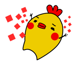 Funny Fat Bird sticker #148884