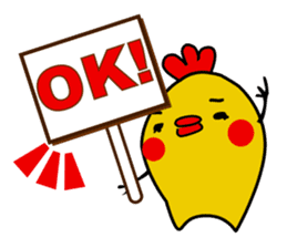 Funny Fat Bird sticker #148893