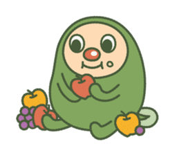 Green mameta sticker #148940