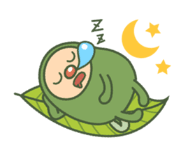 Green mameta sticker #148944