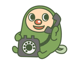 Green mameta sticker #148954