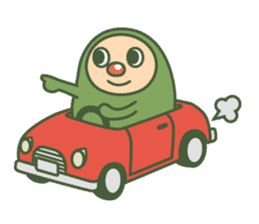 Green mameta sticker #148960