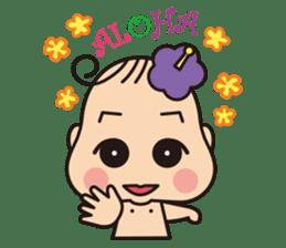 Aloha-chan sticker #149000