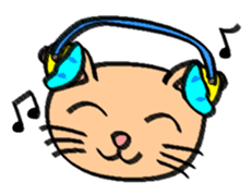 Milky the curious cat sticker #149087