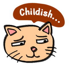 Milky the curious cat sticker #149088