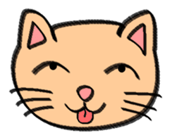 Milky the curious cat sticker #149121