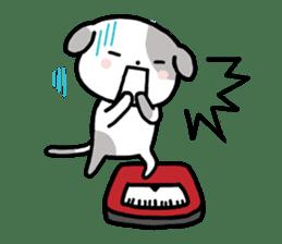 Cute Dog1 sticker #149206