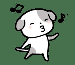 Cute Dog1 sticker #149207