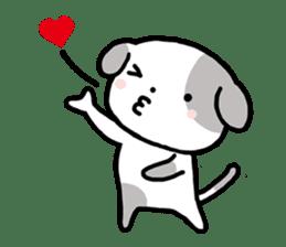 Cute Dog1 sticker #149210