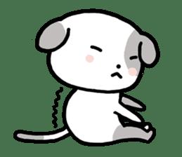 Cute Dog1 sticker #149215