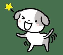 Cute Dog1 sticker #149230