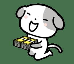 Cute Dog1 sticker #149235