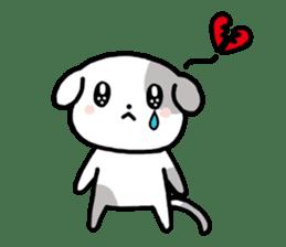 Cute Dog1 sticker #149237