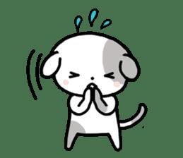Cute Dog1 sticker #149238