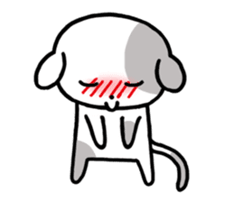 Cute Dog1 sticker #149240