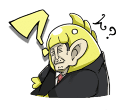 [Mr.Kigurumi!Are You Working?] sticker #149413