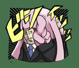 [Mr.Kigurumi!Are You Working?] sticker #149424
