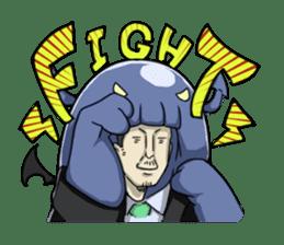 [Mr.Kigurumi!Are You Working?] sticker #149440