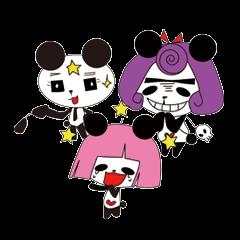 OKAPPANDA and sister and brother