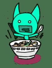 Primary Color Cat Encyclopedia sticker #151652